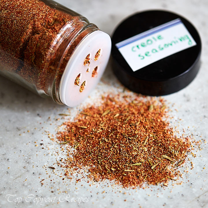 This Dinosaur BBQ's Creole seasoning is very aromatic with very natural flavors. It will make whatever you rub it into earthy, spicy and complex.
