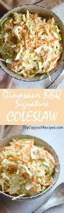 Dinosaur BBQ Signature Creamy Coleslaw recipe