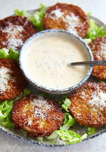 Fried Green Tomatoes (Dinosaur BBQ Recipe)
