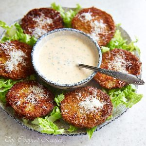 Fried Green Tomatoes (Dinosaur BBQ Recipe)