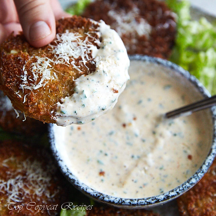 This is the best ranch dressing recipe, period. Dinosaur BBQ uses it for salads and as a dipping sauce for fried and grilled meats and veggies, and more.